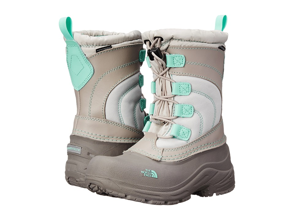 The North Face Kids - Alpenglow Lace (Toddler/Little Kid/Big Kid) (Atmosphere Grey/Surf Green) Girls Shoes