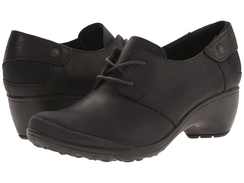 Merrell - Veranda Tie (Black) Women's Lace up casual Shoes