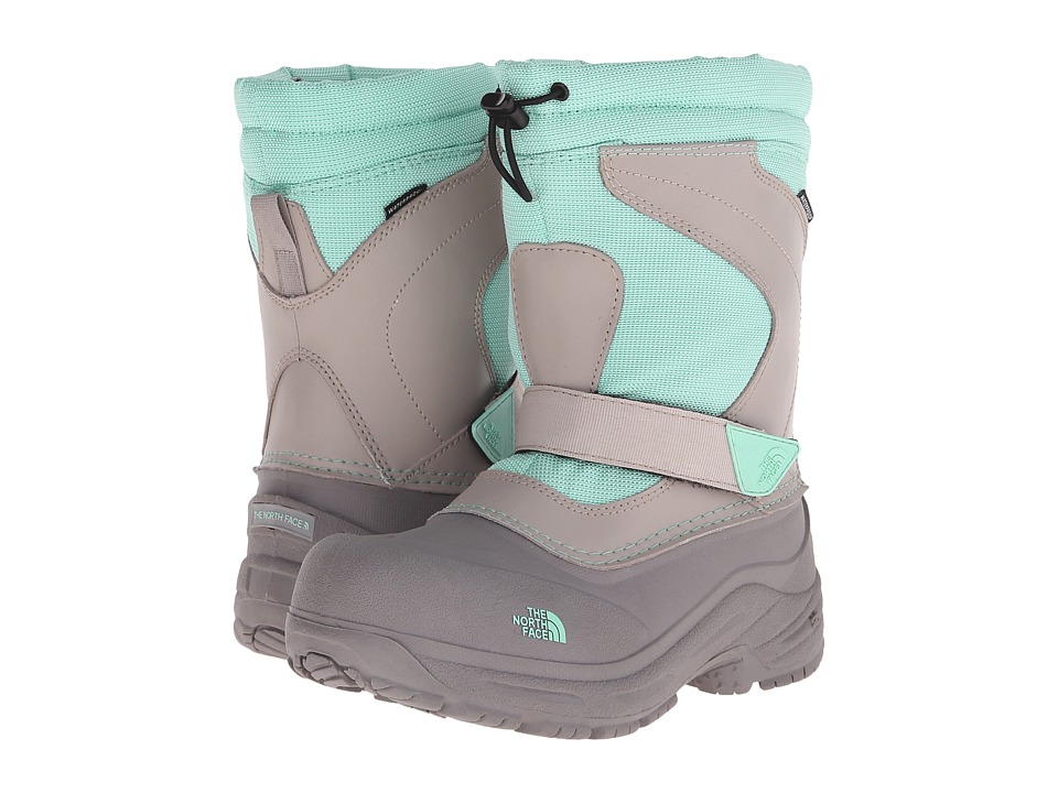 The North Face Kids - Alpenglow Pull-On (Toddler/Little Kid/Big Kid) (Atmosphere Grey/Surf Green) Girls Shoes