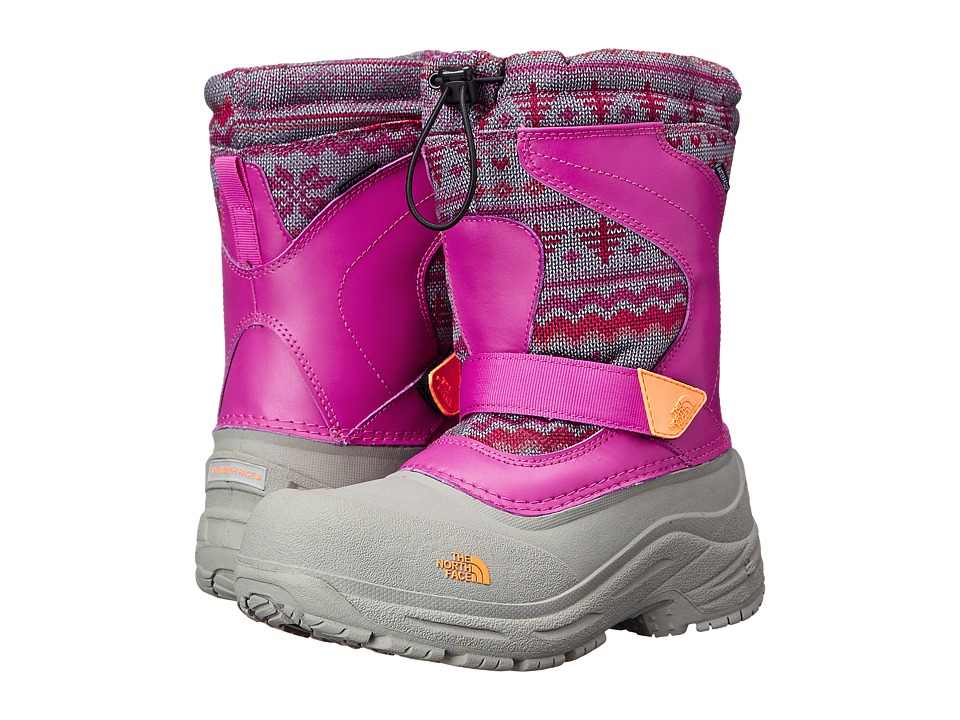 The North Face Kids - Alpenglow Pull-On (Toddler/Little Kid/Big Kid) (Luminous Pink/Impact Orange) Girls Shoes