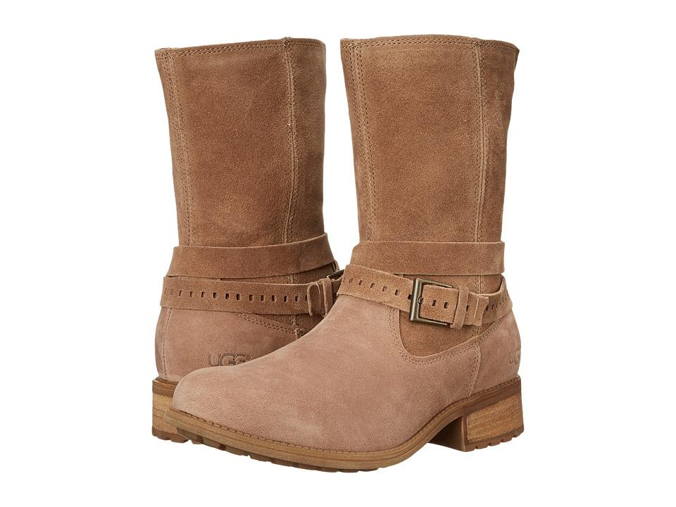 UGG Kiings (Caramel Leather/Suede) Women