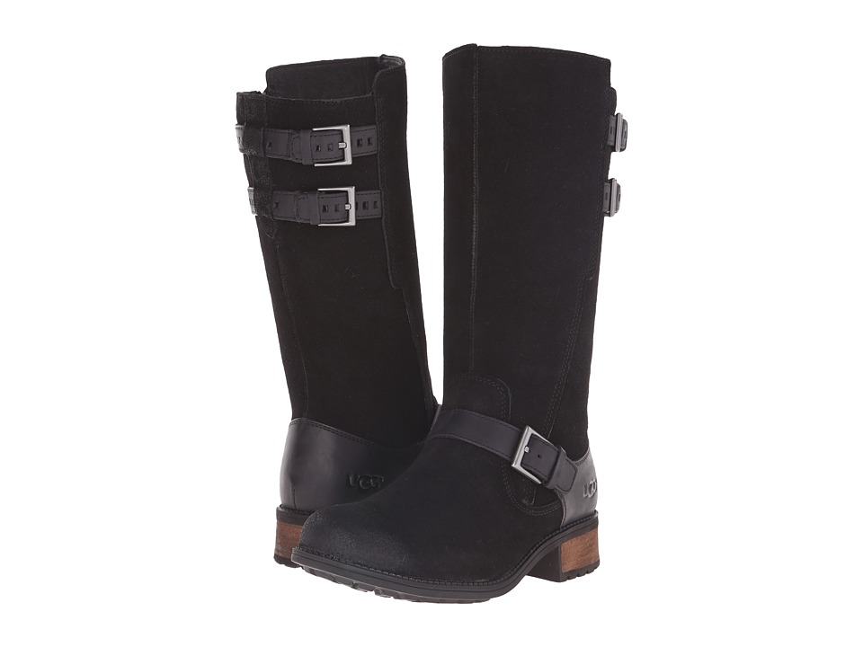 UGG - Everglayde (Black Suede) Women's Boots