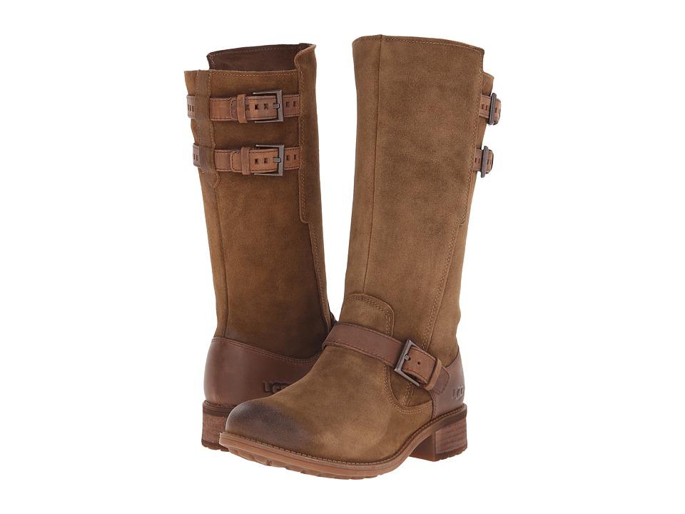 UGG - Everglayde (Sugar Pine/Suede) Women's Boots