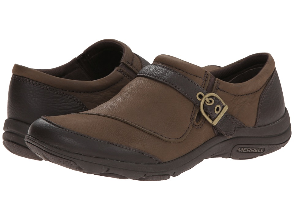 Merrell - Dassie Buckle (Char Brown) Women's Shoes