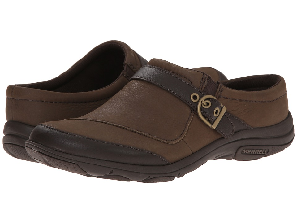 Merrell - Dassie Slide (Char Brown) Women's Clog Shoes