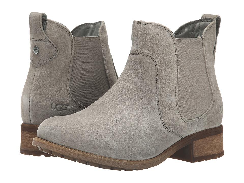 UGG - Bonham (Granite Leather/Suede) Women's Boots