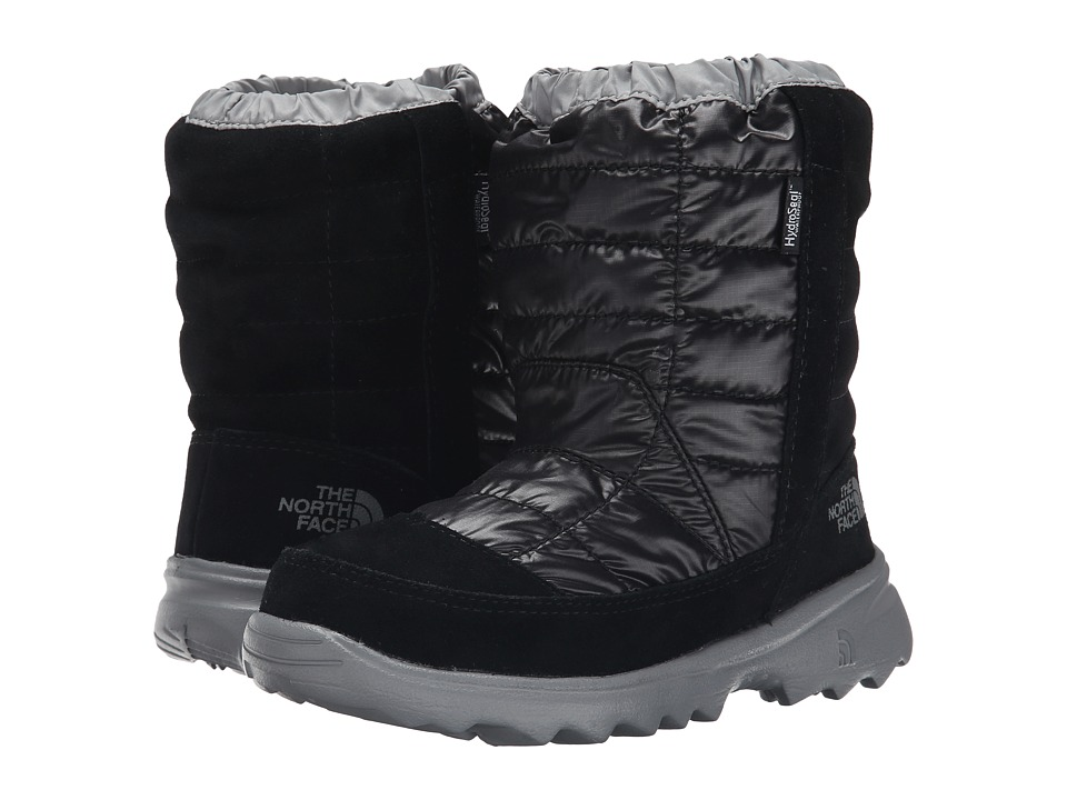 The North Face Kids - Winter Camp Waterproof (Little Kid/Big Kid) (TNF Black/Griffin Grey) Kids Shoes