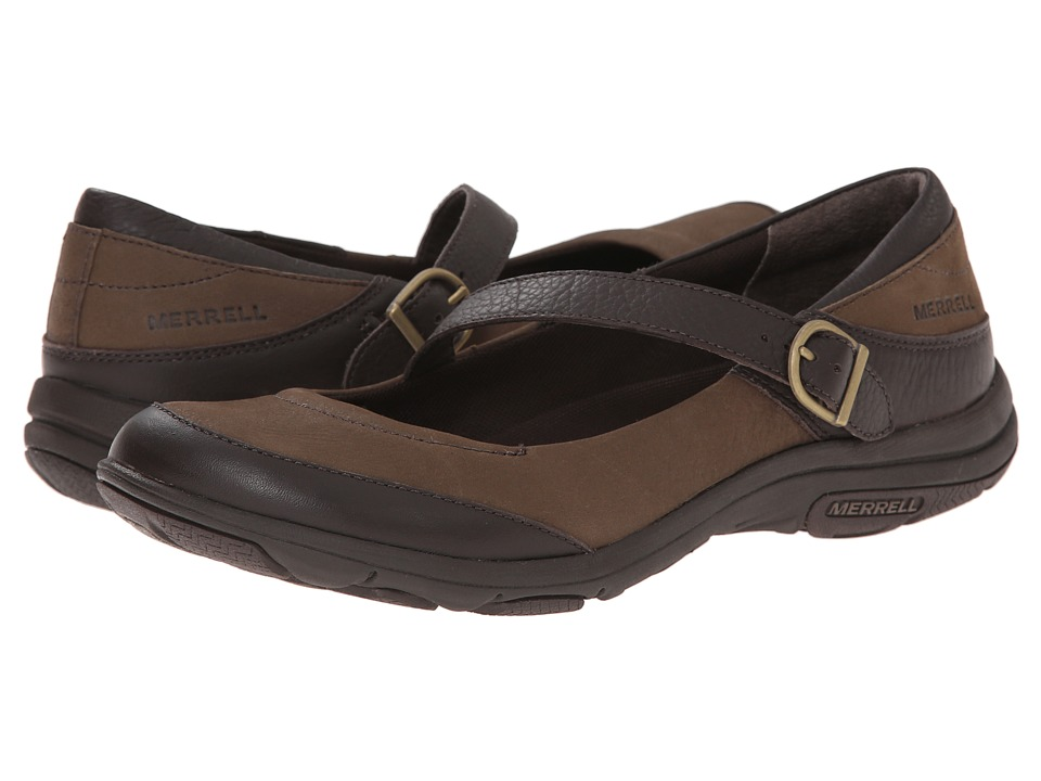 Merrell - Dassie MJ (Char Brown) Women's Maryjane Shoes