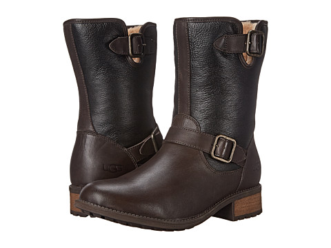 UGG - Chaney (Brown Twinface/Leather) Women's Boots
