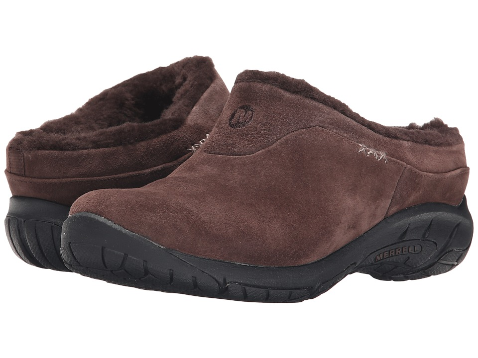 Merrell - Encore Ice (Chocolate Brown) Women's Slip on Shoes