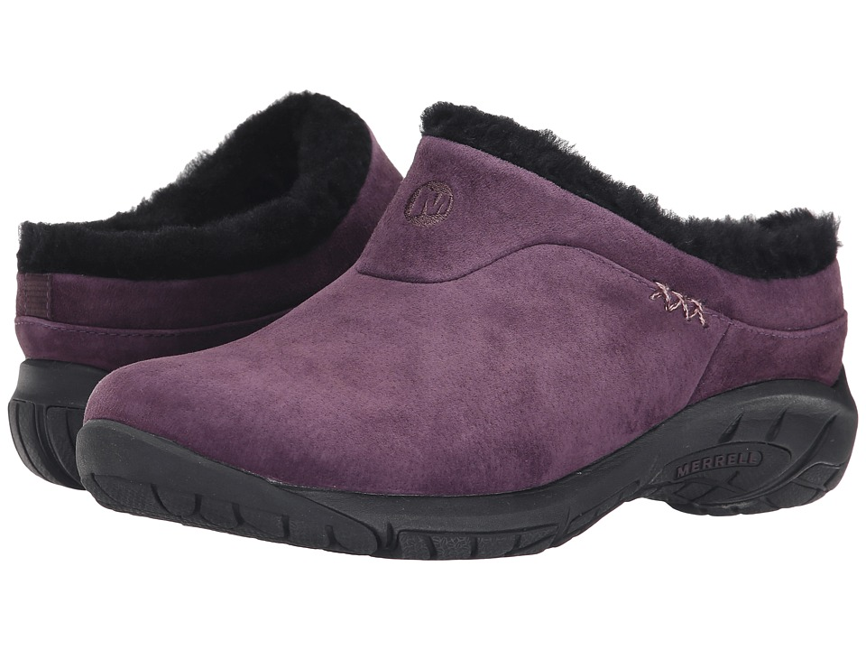 Merrell - Encore Ice (Plum) Women's Slip on Shoes
