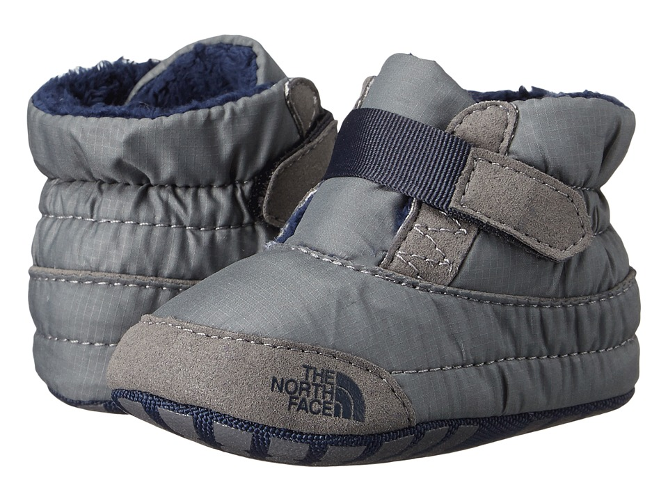The North Face Kids - Asher Bootie (Infant/Toddler) (Sedona Sage Grey/Cosmic Blue) Boys Shoes