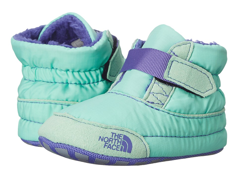 The North Face Kids - Asher Bootie (Infant/Toddler) (Surf Green/Blue Iris) Girls Shoes