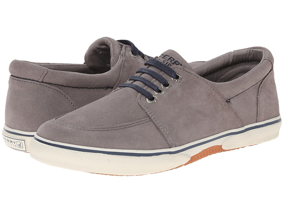 Sperry Top-Sider Kids - Voyager (Little Kid/Big Kid) (Grey/Navy) Boys Shoes