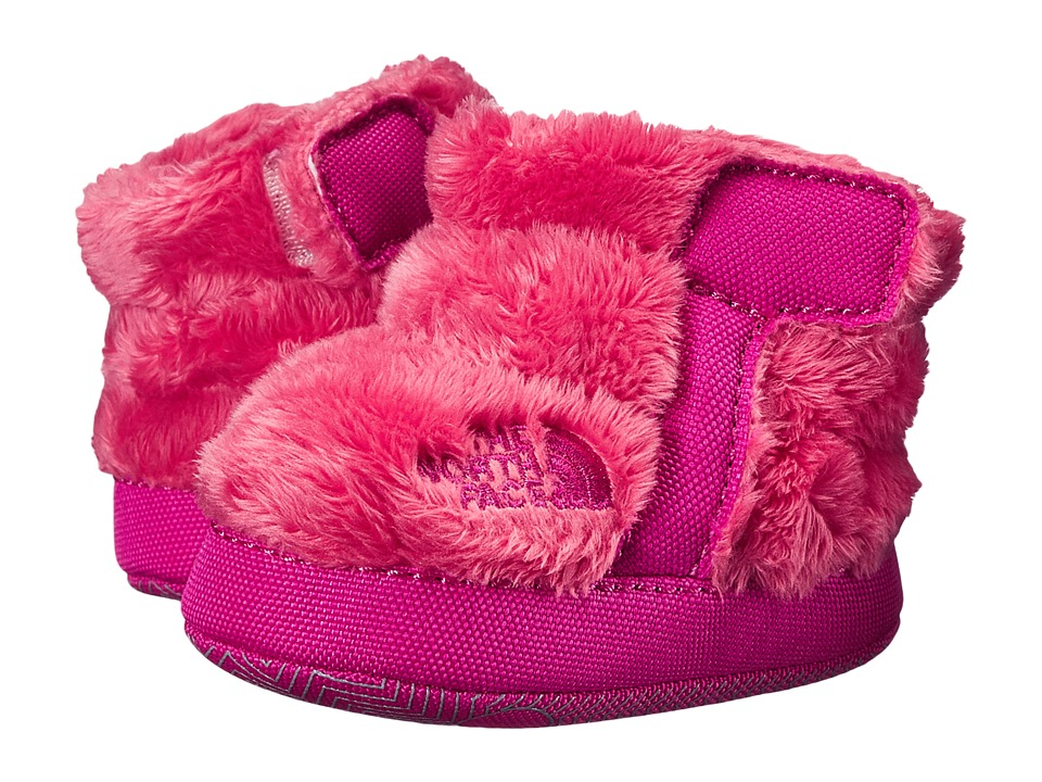 The North Face Kids - NSE Fleece Bootie (Infant/Toddler) (Gem Pink/Luminous Pink) Girls Shoes