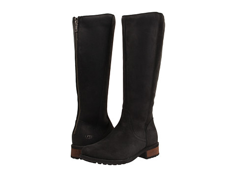 ... UPC 888855153351 product image for UGG - Seldon (Black Leather) Women's Zip Boots |