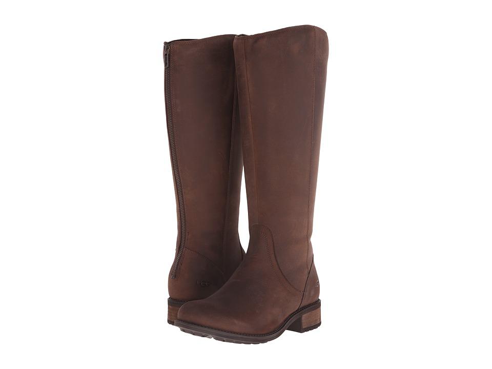 6d2a837213a UPC 888855153894 - UGG - Seldon (Stout Leather) Women's Zip Boots ...