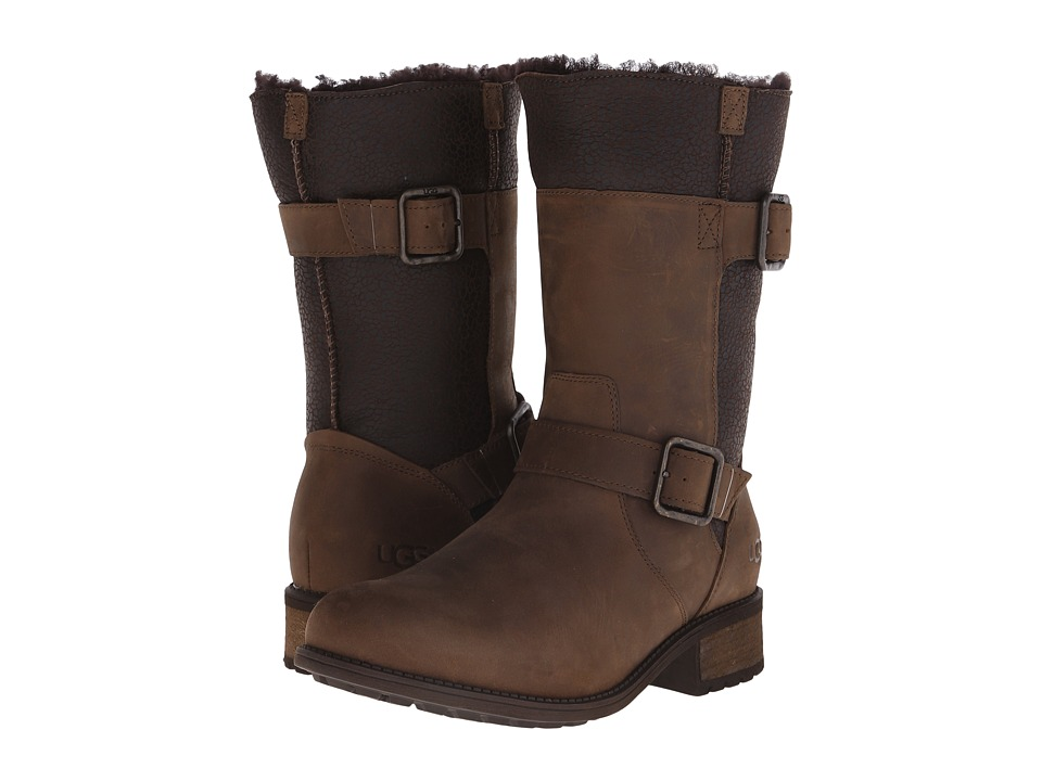 UGG - Oregon (Stout Twinface/Leather) Women