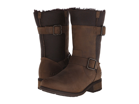 UGG - Oregon (Stout Twinface/Leather) Women's Boots