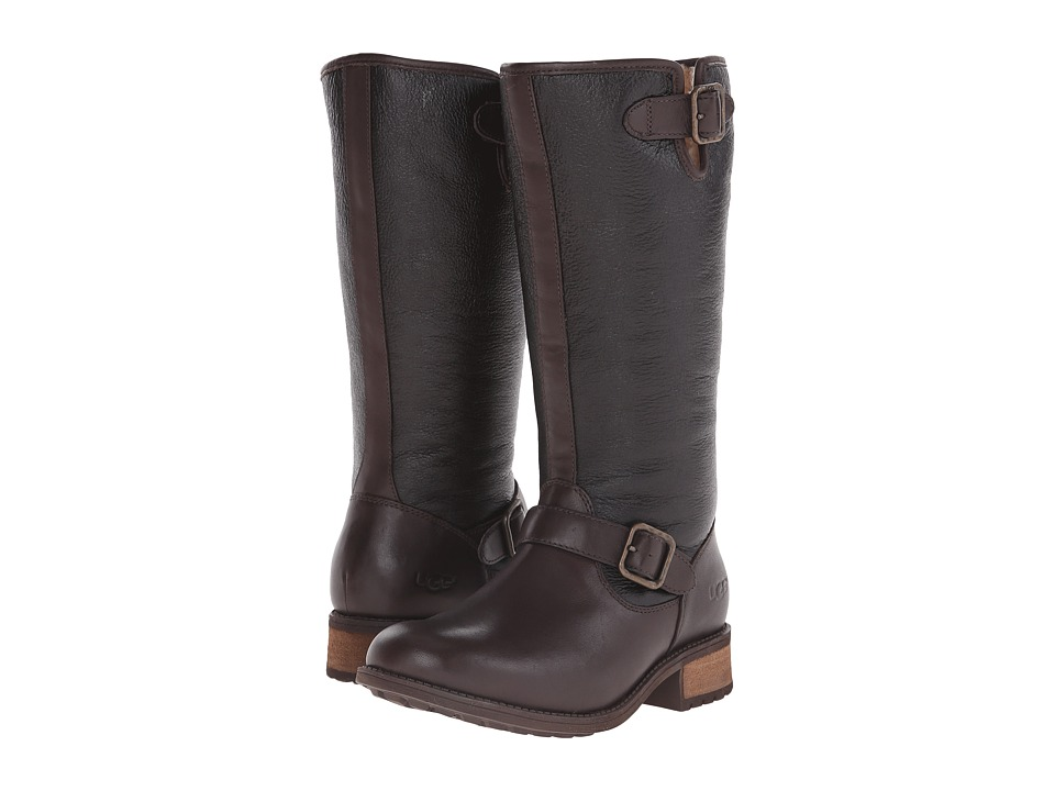 UGG Chancery (Brown Twinface/Leather) Women