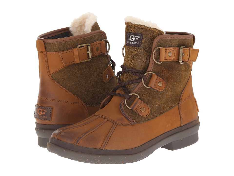 UGG Cecile (Chestnut Leather) Women