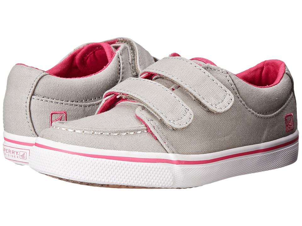 Sperry Top-Sider Kids - Hallie HL (Toddler/Little Kid) (Grey/Fuchsia) Girls Shoes