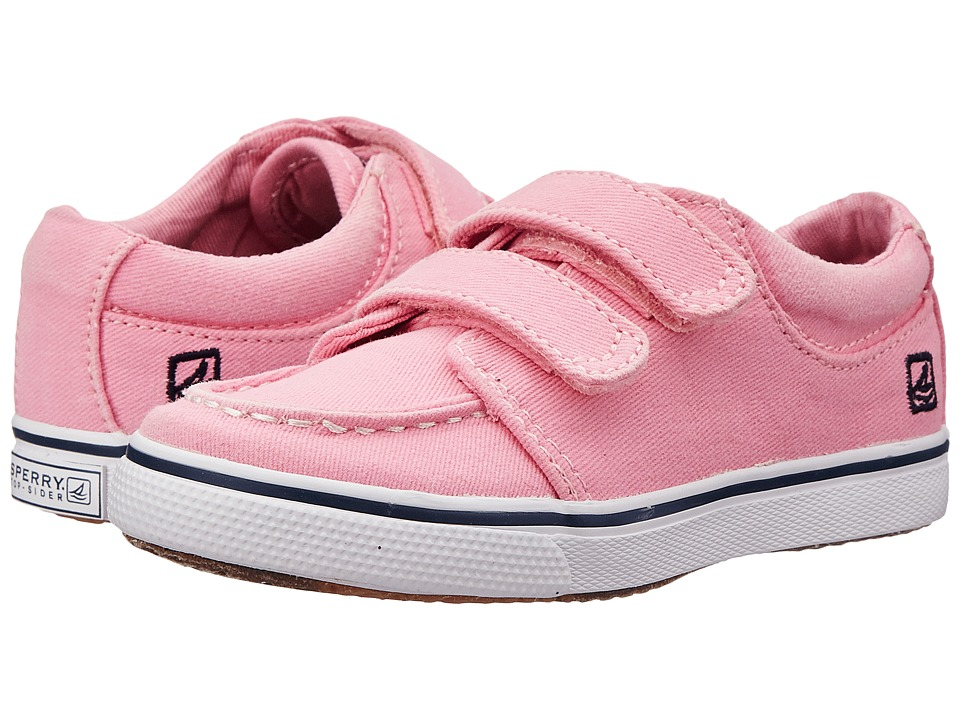 Sperry Kids - Hallie HL (Toddler/Little Kid) (Pink) Girls Shoes
