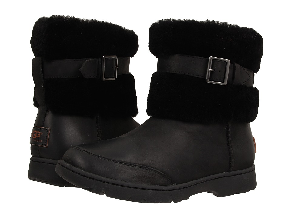 UGG - Brielle (Black Leather) Women
