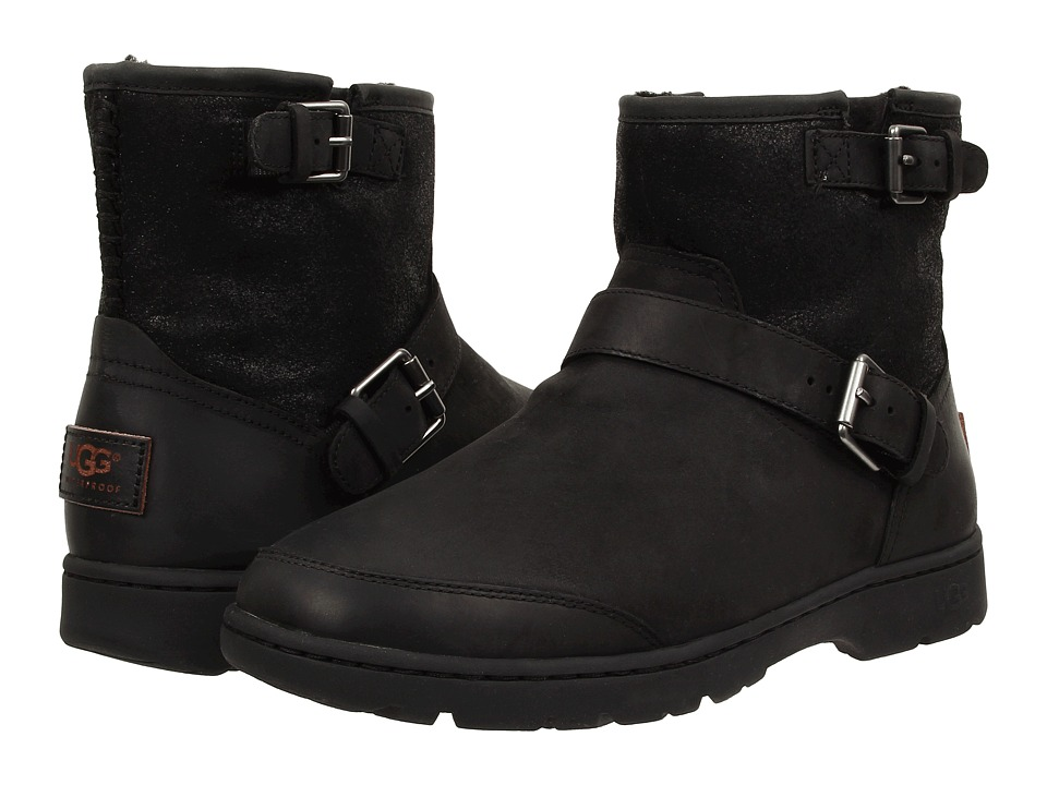 UGG - Dawn (Black Leather) Women