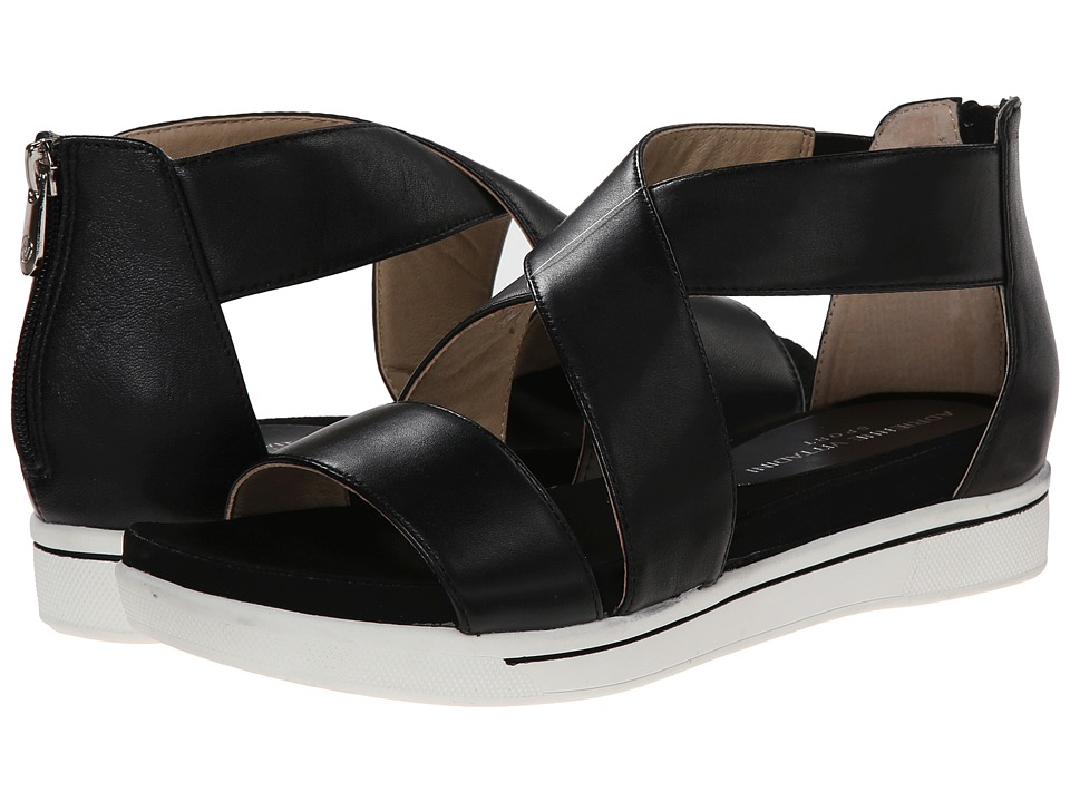Adrienne Vittadini - Claud (Black Soft Calf) Women's Dress Sandals