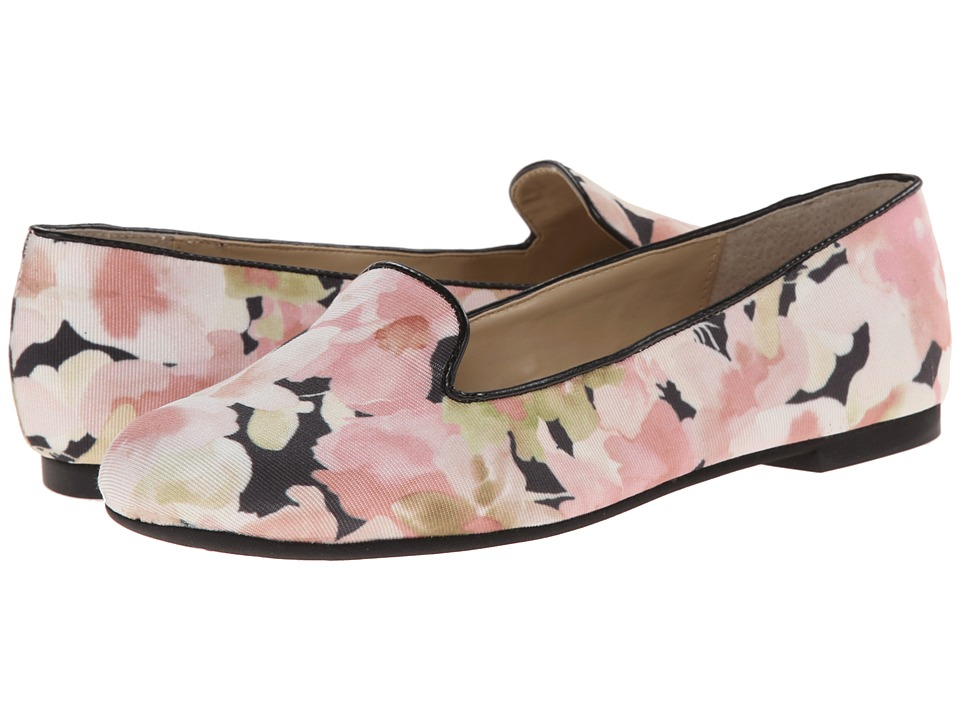 Adrienne Vittadini - Mayes (Navy/White Striped Fabric) Womens Dress Flat  Shoes | Adrienne Vittadini | 6pm