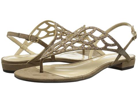 Adrienne Vittadini - Molli (Silky Taupe) Women's Dress Sandals