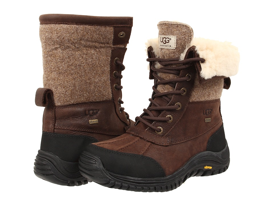 UGG - Adirondack Boot II (Stout Leather) Women's Cold Weather Boots