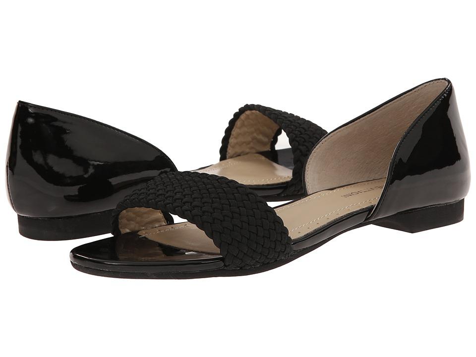 Adrienne Vittadini - Aloha (Black Patent/Stretch) Women's Dress Sandals