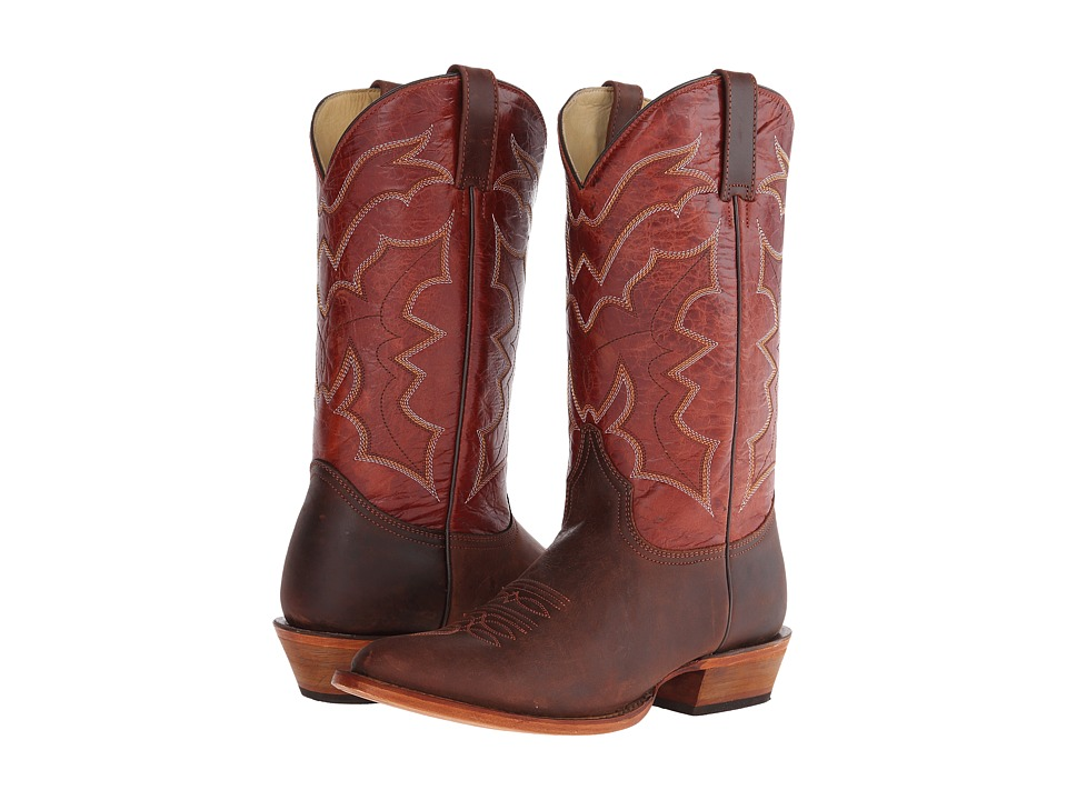 Stetson - Bat R (Light Brown) Cowboy Boots