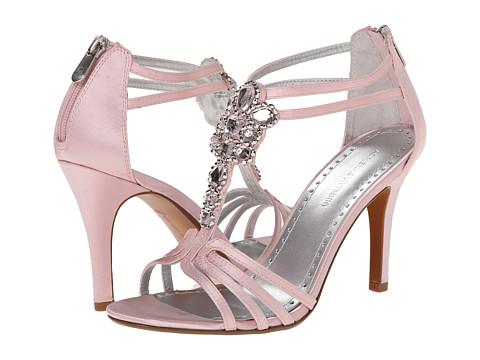 Adrienne Vittadini - Georga (Soft Pink Satin) Women's 1-2 inch heel Shoes