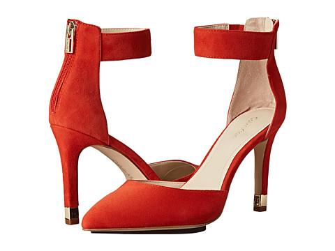Calvin Klein - Tanda (Cerise Kids Suede) Women's Shoes