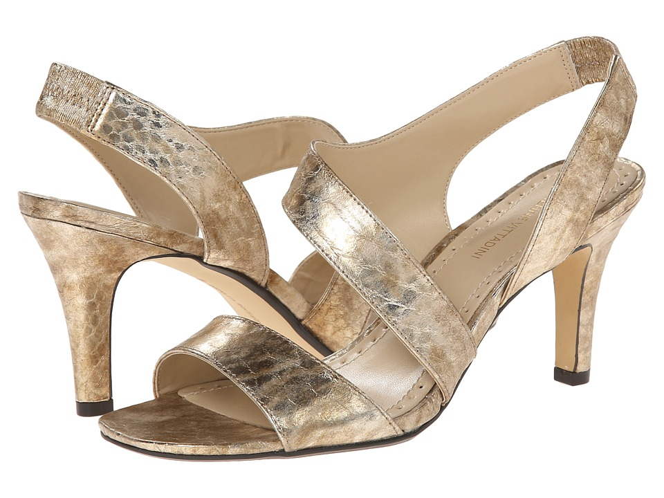 Adrienne Vittadini Giprisity (Golden Metallic Snake) Women
