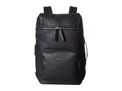 Armani Jeans - Zip-Top Backpack (Navy) Backpack Bags