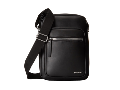 Diesel - Leather Beat Damper (Black) Bags