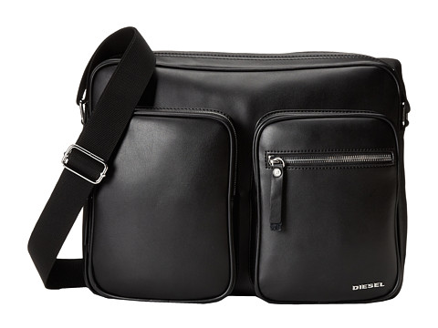 Diesel - Leather Beat Phasers (Black) Bags