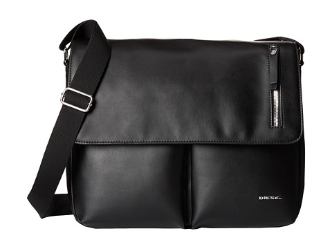 Diesel - Leather Beat Chorus (Black) Bags