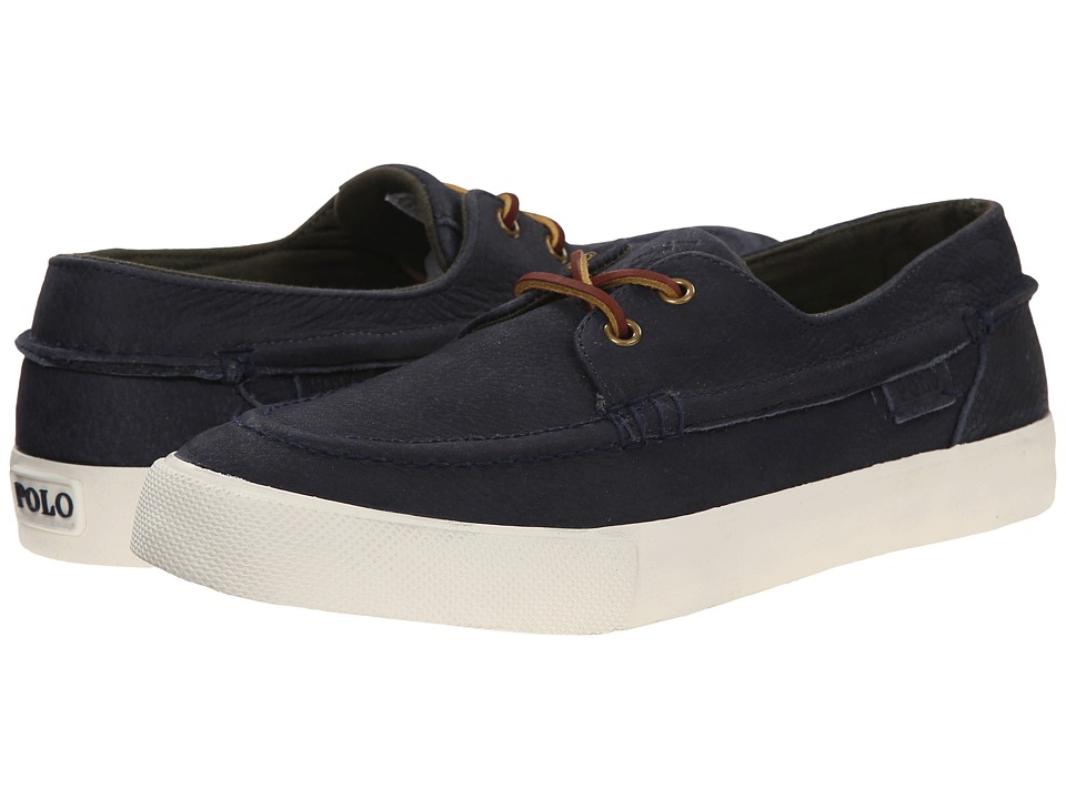 Polo Ralph Lauren Tenen (Newport Navy Grained Nubuck) Men