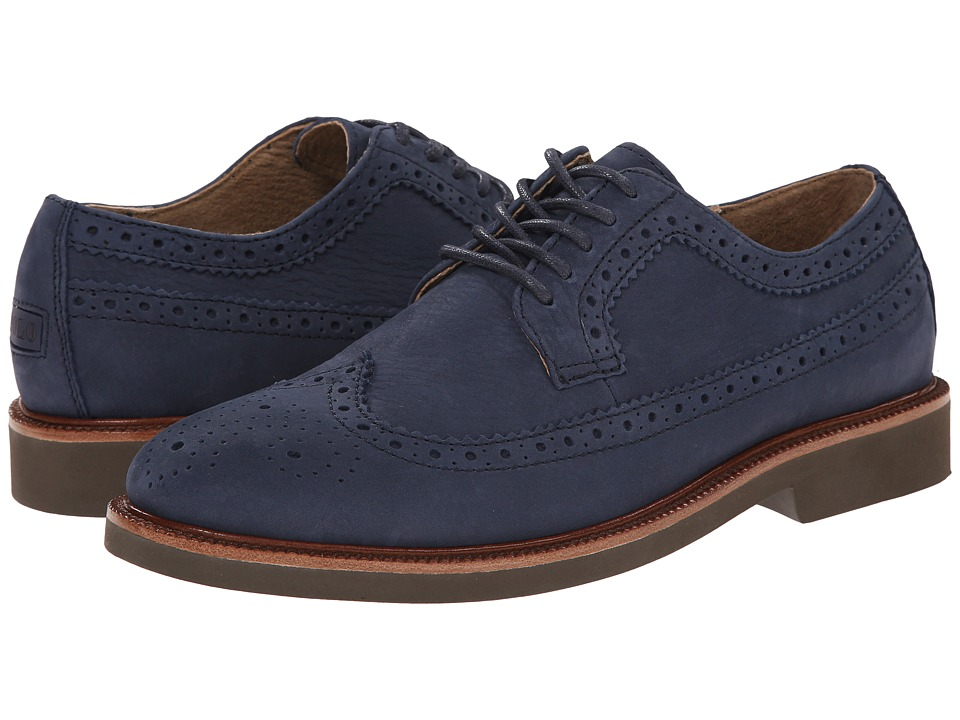 Polo Ralph Lauren - Torrington (Navy Tumbled Nubuck) Men's Lace up casual Shoes