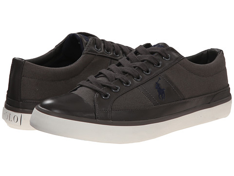 Polo Ralph Lauren - Churston (Regent Grey Canvas) Men's Lace up casual Shoes