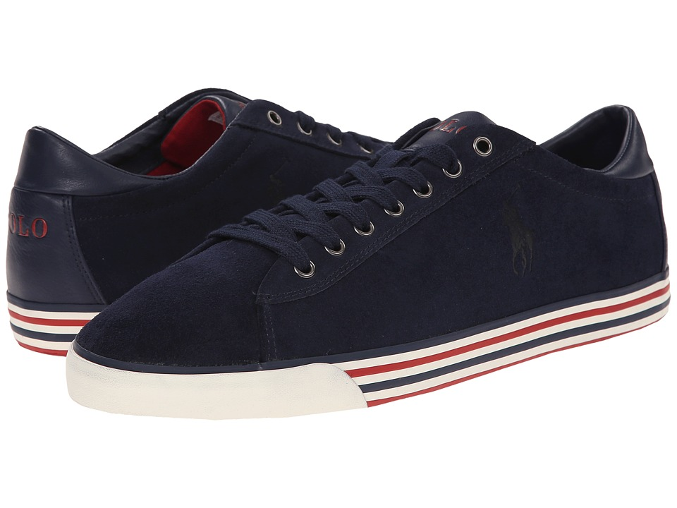 Polo Ralph Lauren - Harvey (Newport Navy Sport Suede) Men's Lace up casual Shoes