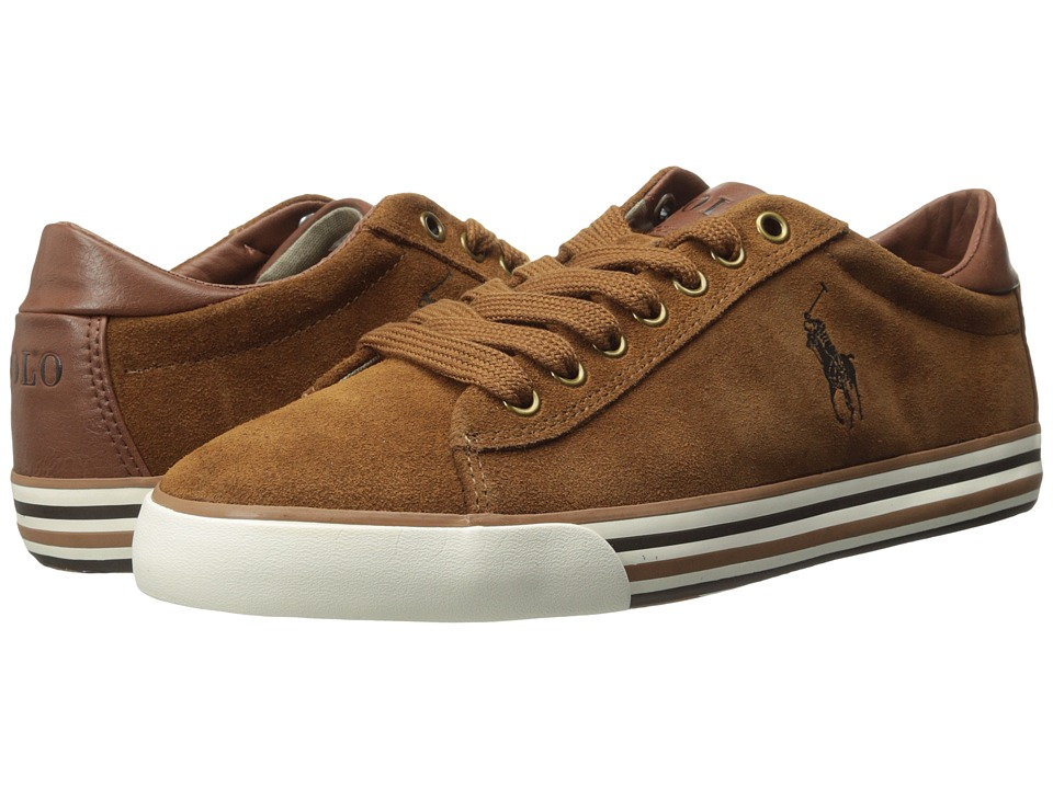 Polo Ralph Lauren - Harvey (New Snuff Sport Suede) Men's Lace up casual Shoes
