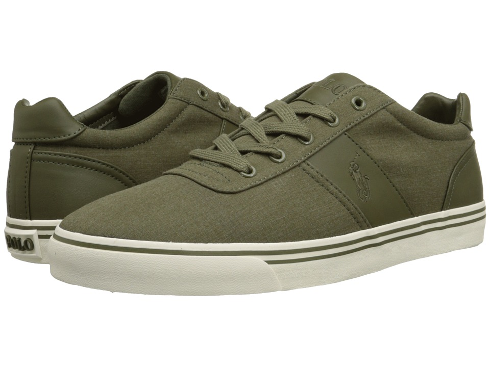 Polo Ralph Lauren - Hanford (Olive Heathered Ripstop) Men's Lace up casual Shoes