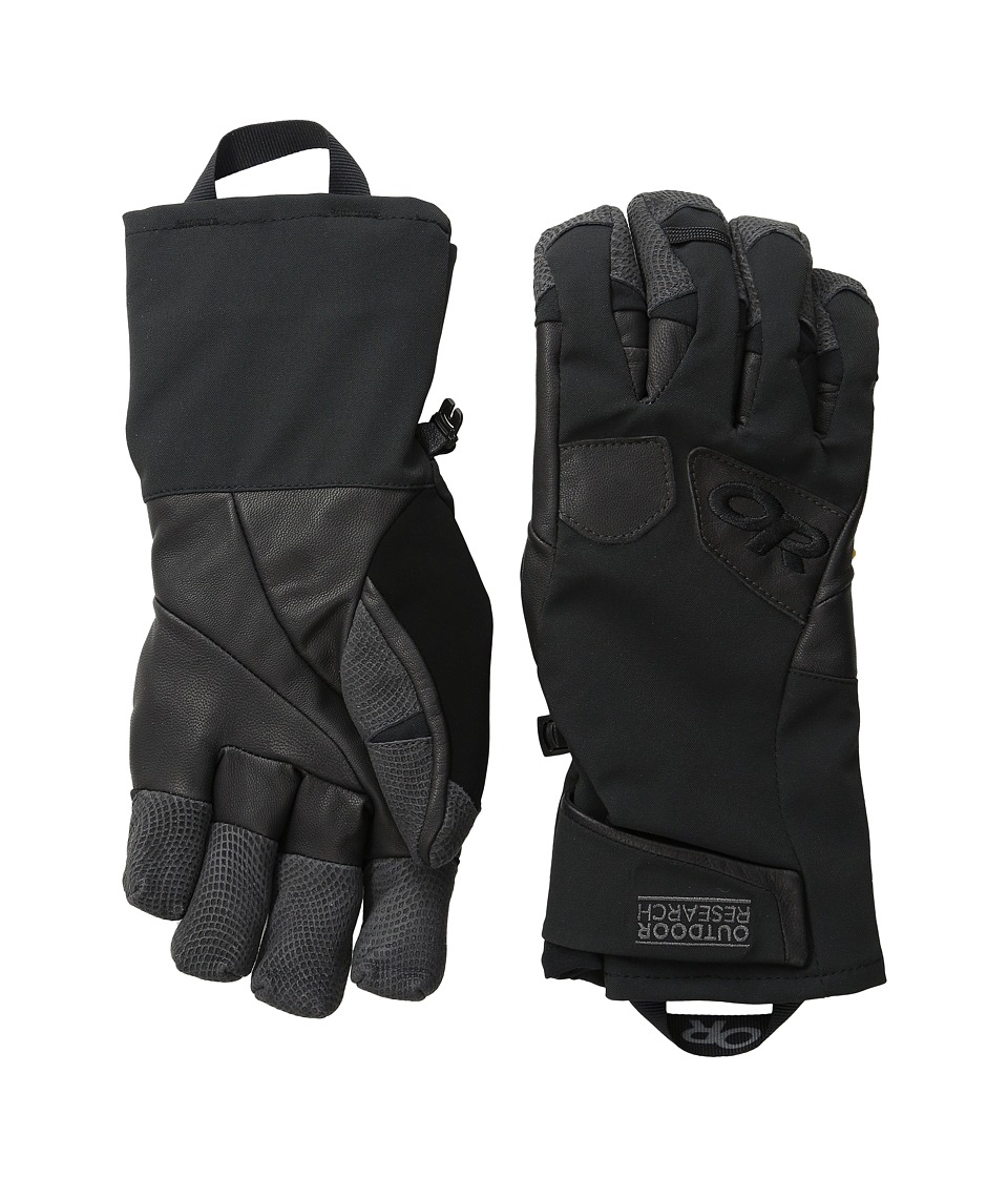 Outdoor Research - Extravert Gloves (Black/Charcoal) Extreme Cold Weather Gloves