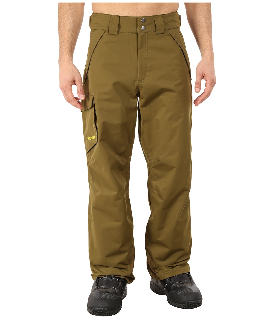Marmot - Motion Pant (Brown Moss) Men